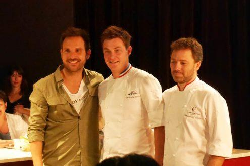 Christophe Michalak, Christophe Renou et Sébastien Curtalin