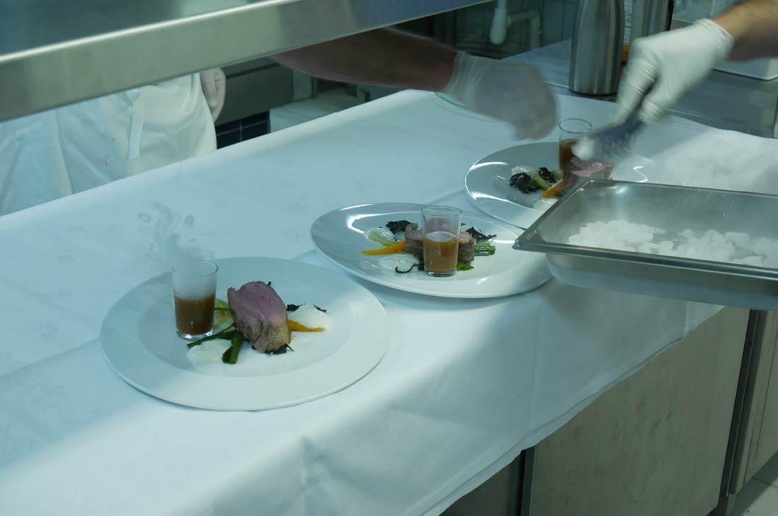 La cuisine du Cristal au Futuroscope