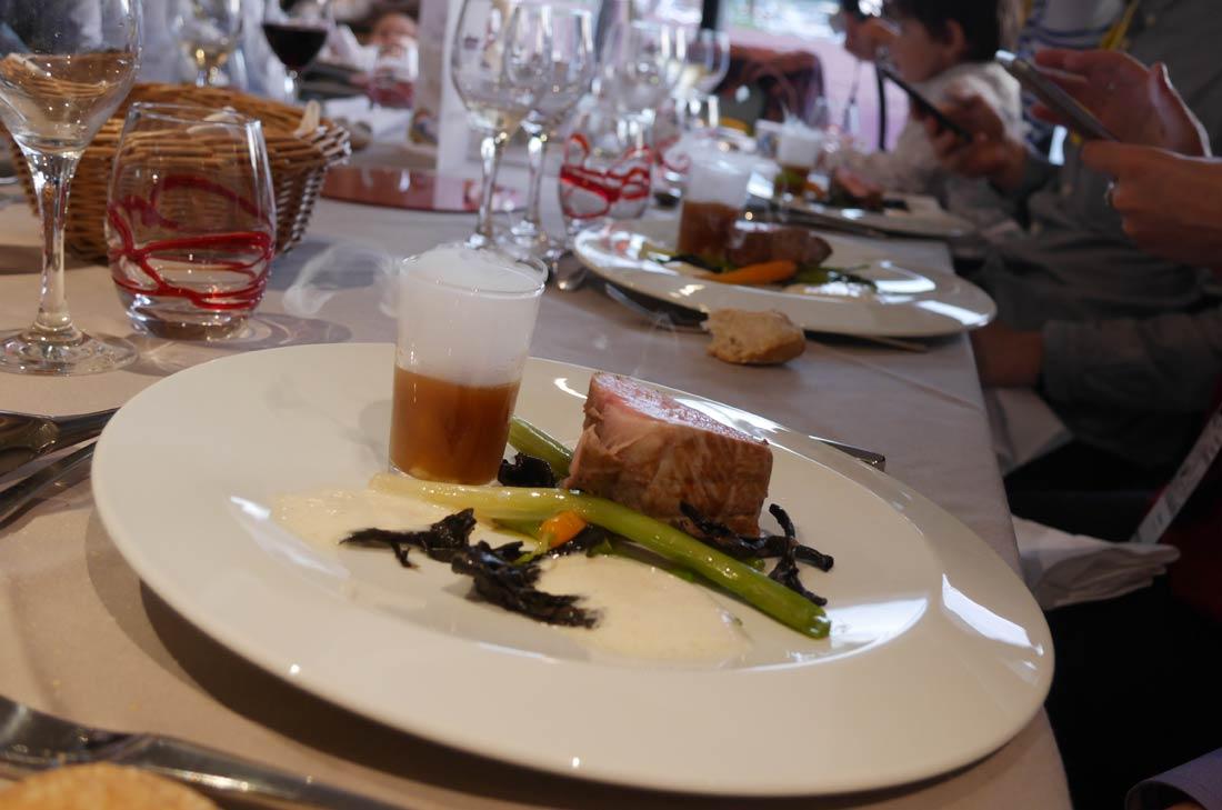 La cuisine du Cristal, offre culinaire du Futuroscope