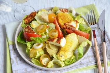 Salade poulet manouri avocat