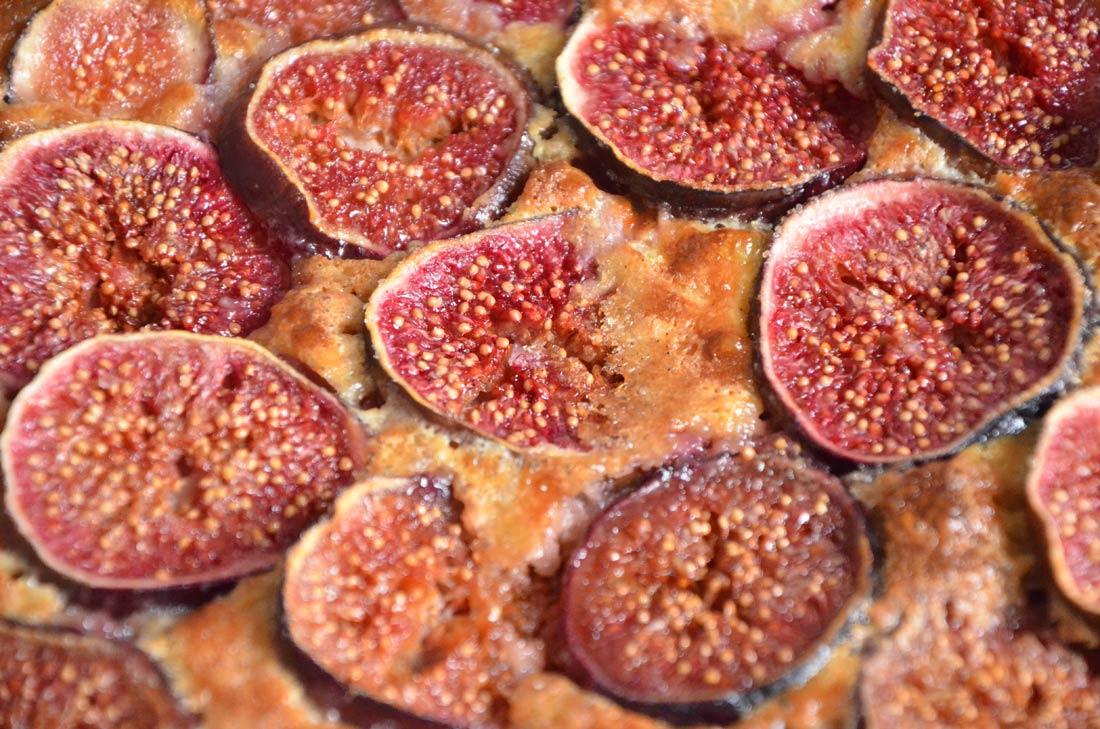Tarte briochée aux figues