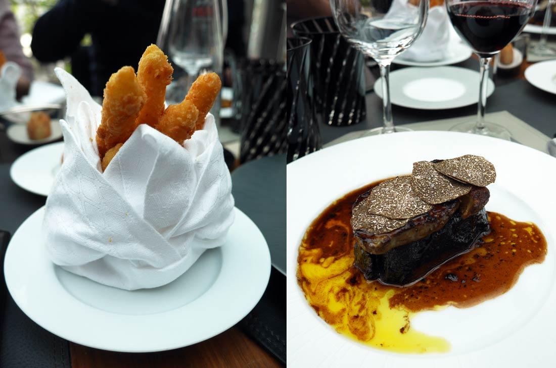 boeuf façon dubernet foie gras