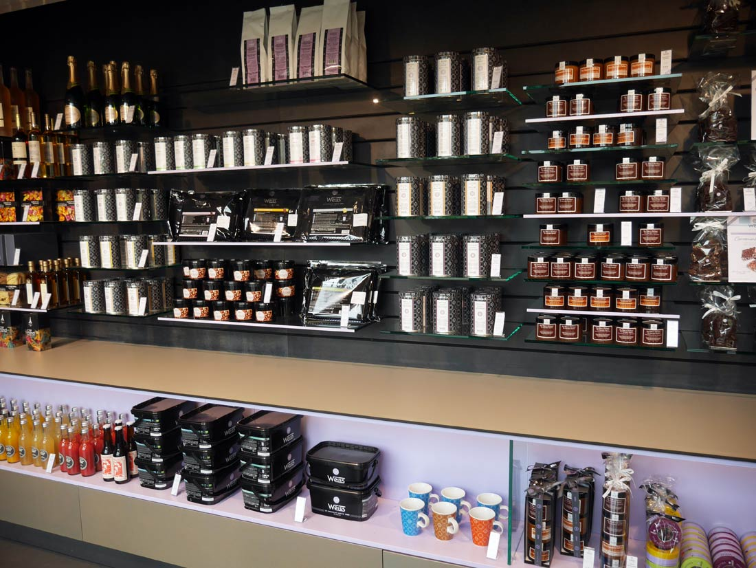 boutique de chocolats Weiss