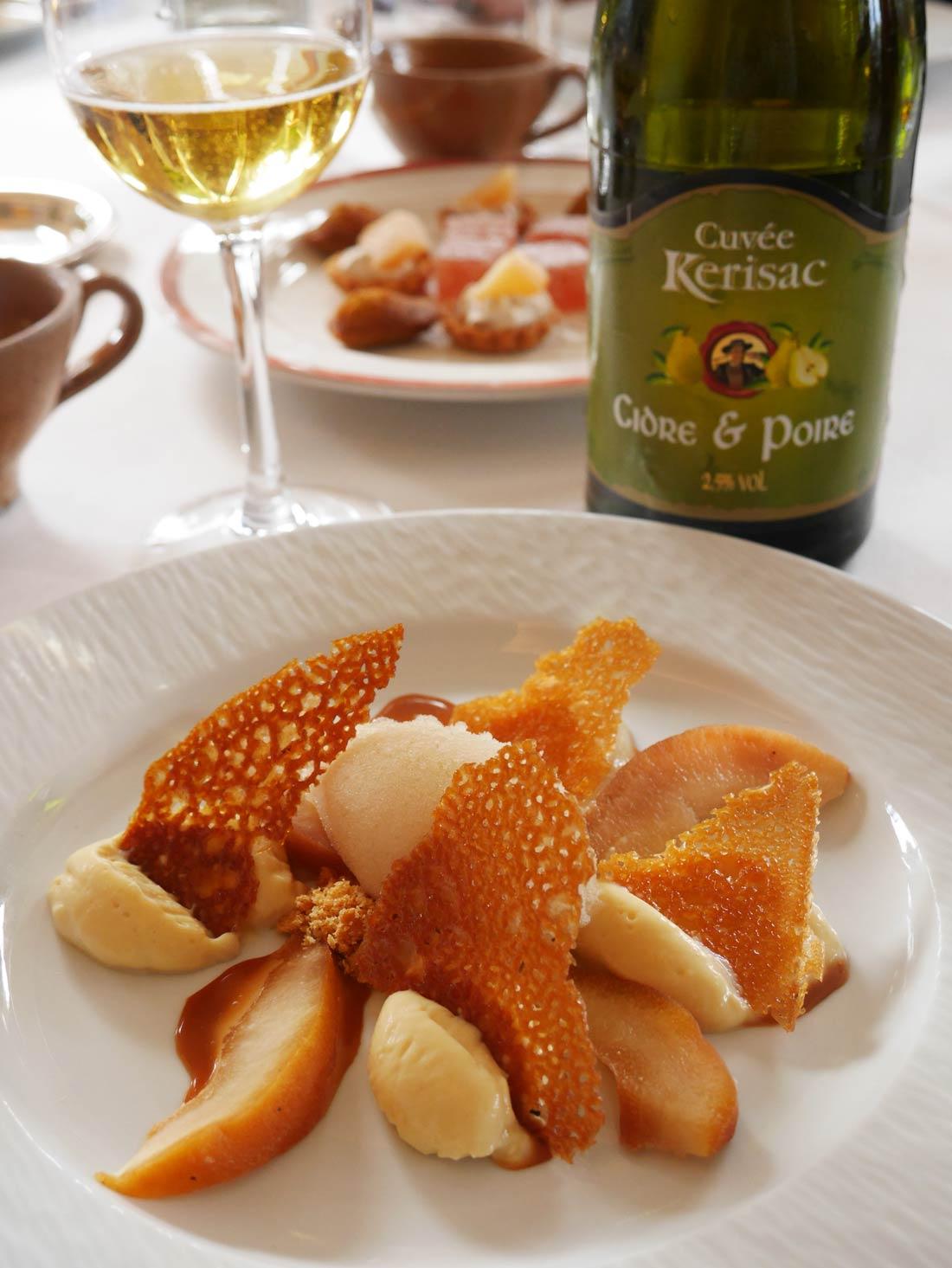 Dessert Kerisac poire