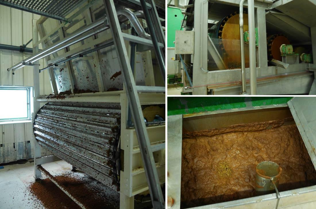 étapes de la fabrication du cidre Kerisac