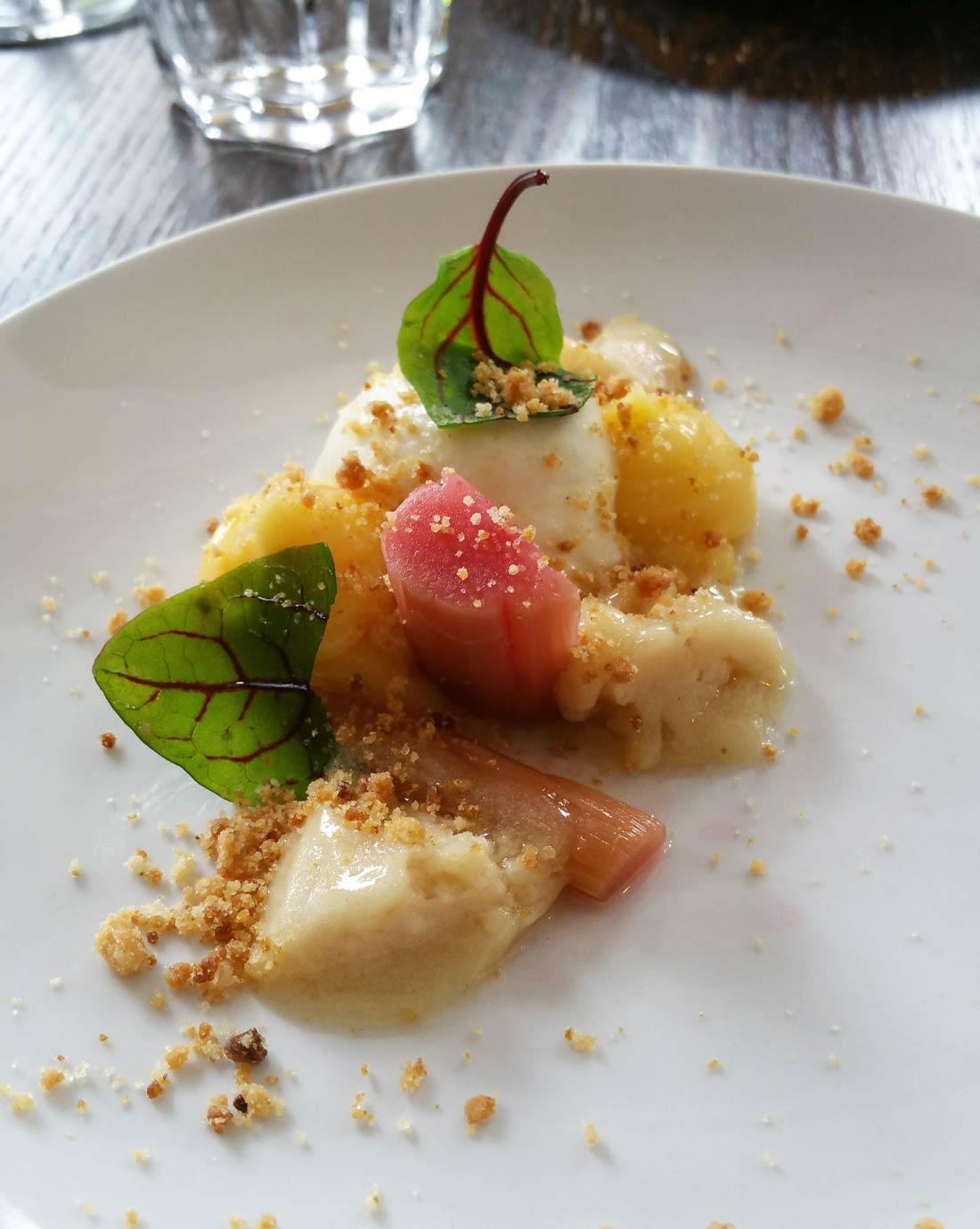 dessert par Maximilien Kuzniar à la Plantxa