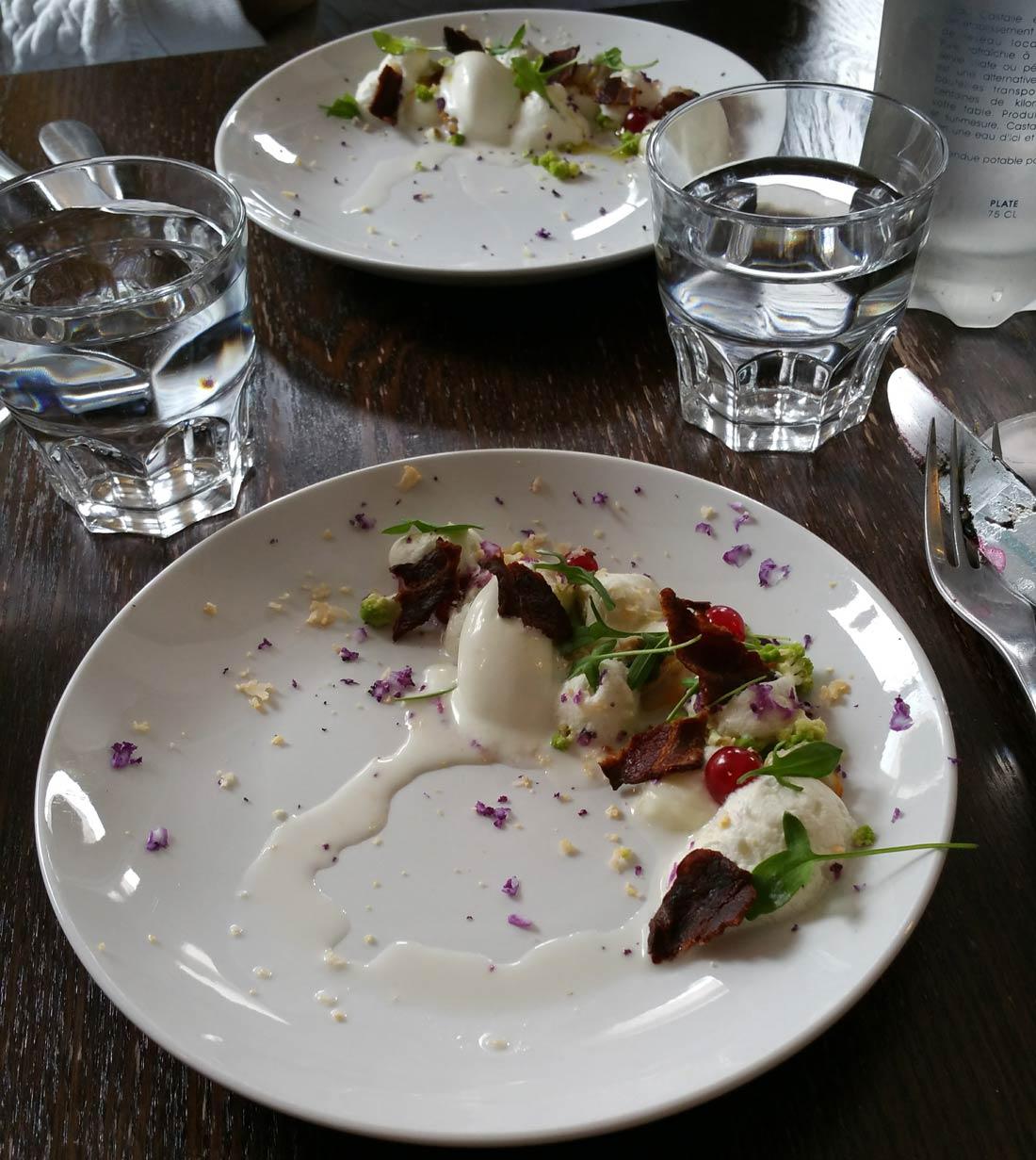 crème de chou-fleur par Maximilien Kuzniar à la Plantxa