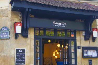 devanture restaurant Rainettes