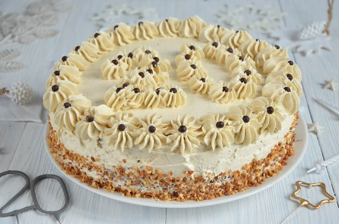 gâteau moka au café fait maison