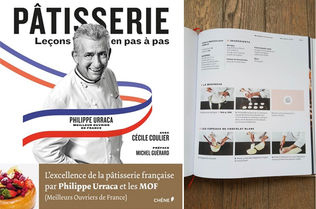 livre pâtisserie Philippe Urraca