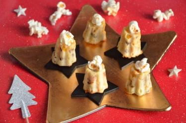 mini cannelés maïs lard grillé