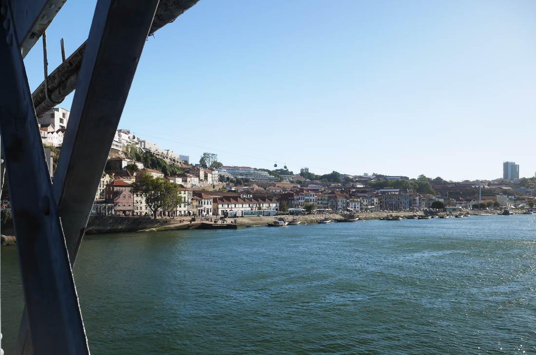 Pont Dom Luis à Porto