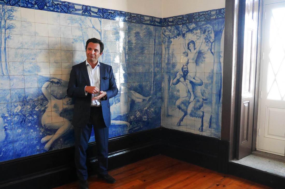 Jorge Rosas Directeur Général de la maison Ramos Pinto