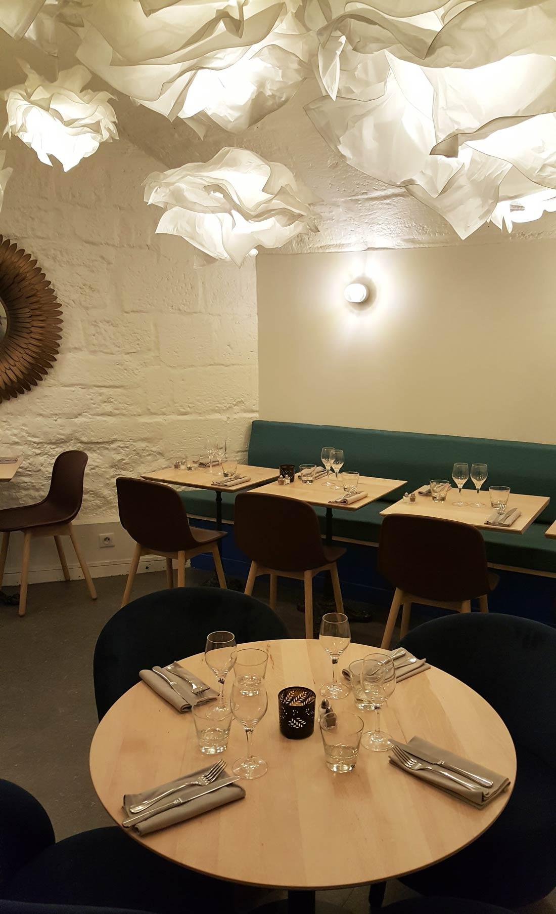 visite du restaurant Rainettes au sous-sol