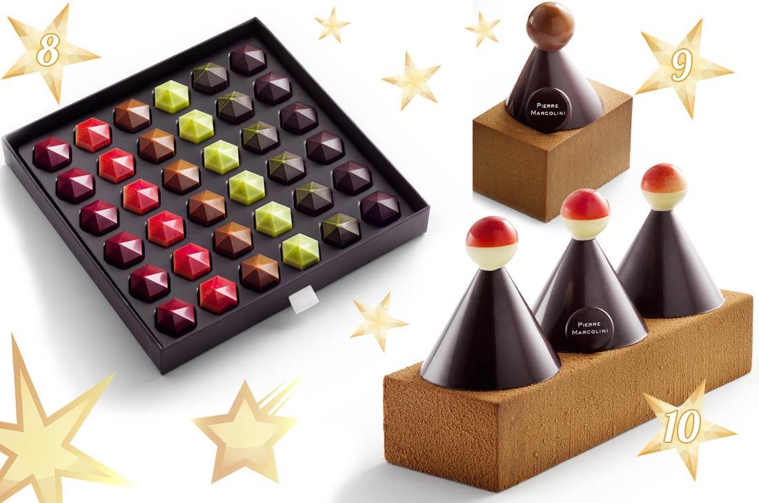 chocolats de Pierre Marcolini pour Noël 2016