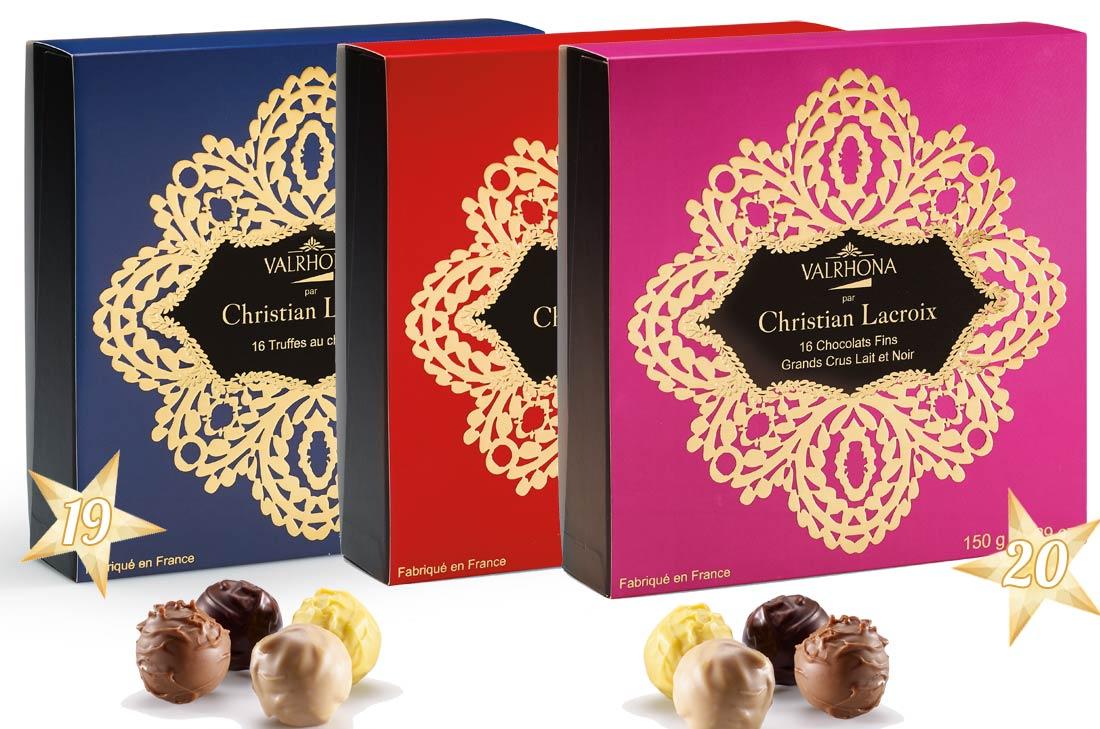 Chocolats Valrhona pour Noël 2016