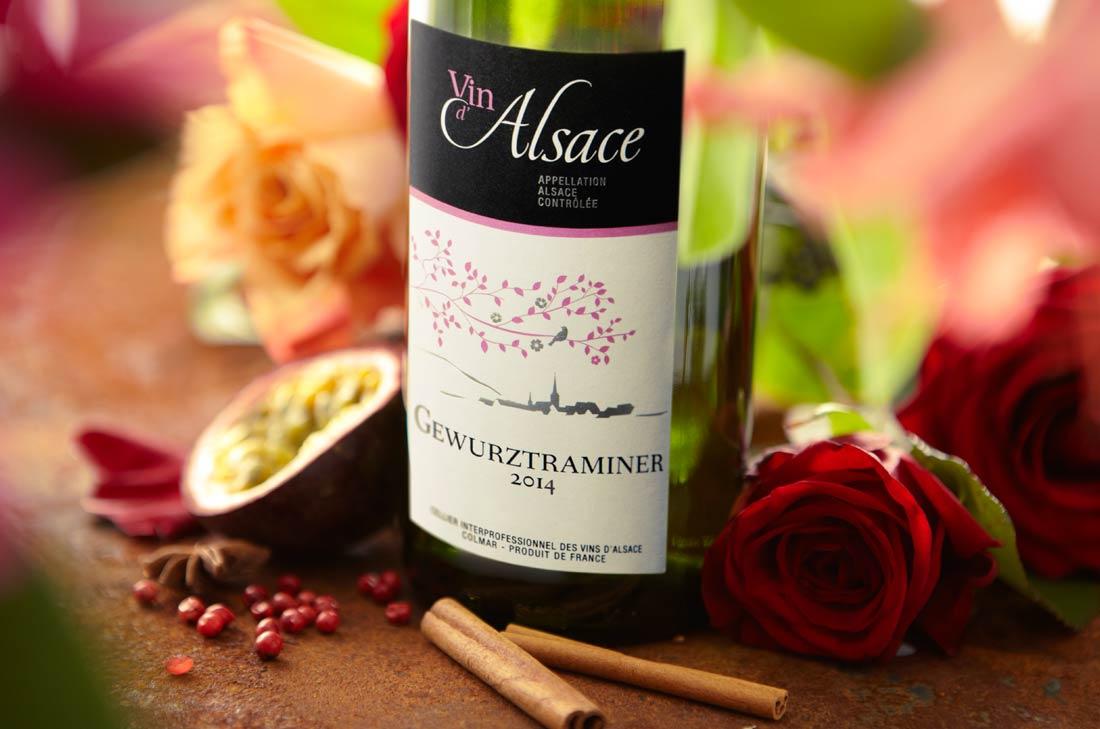gewurstramminer, vin d'Alsace