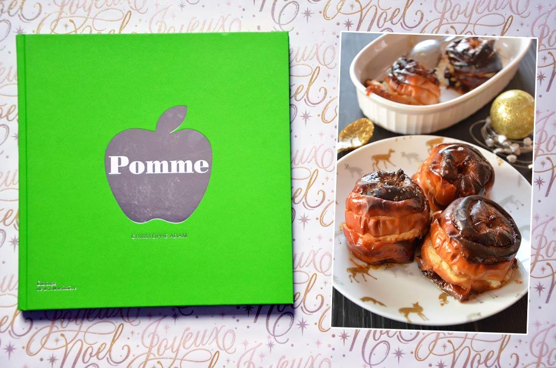 livre de cuisine Pomme de Christophe Adam