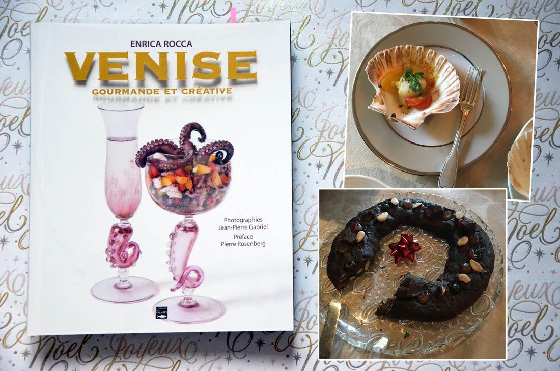 Livre Venise gourmande et créative Enrica Rocca