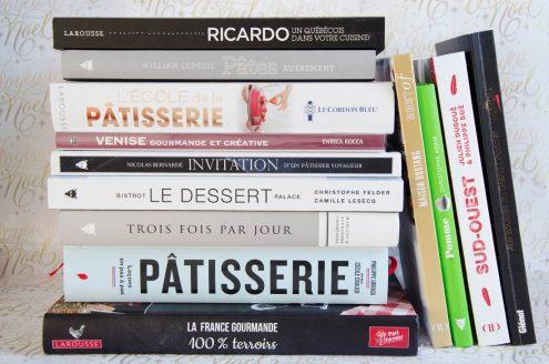 sélection livres de cuisine pour Noël 2016