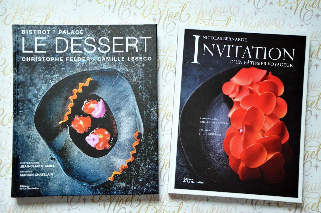 livres Bistrot / Palace Le dessert de Christophe Felder et Invitation d'un pâtissier voyageur de Nicolas Bernardé