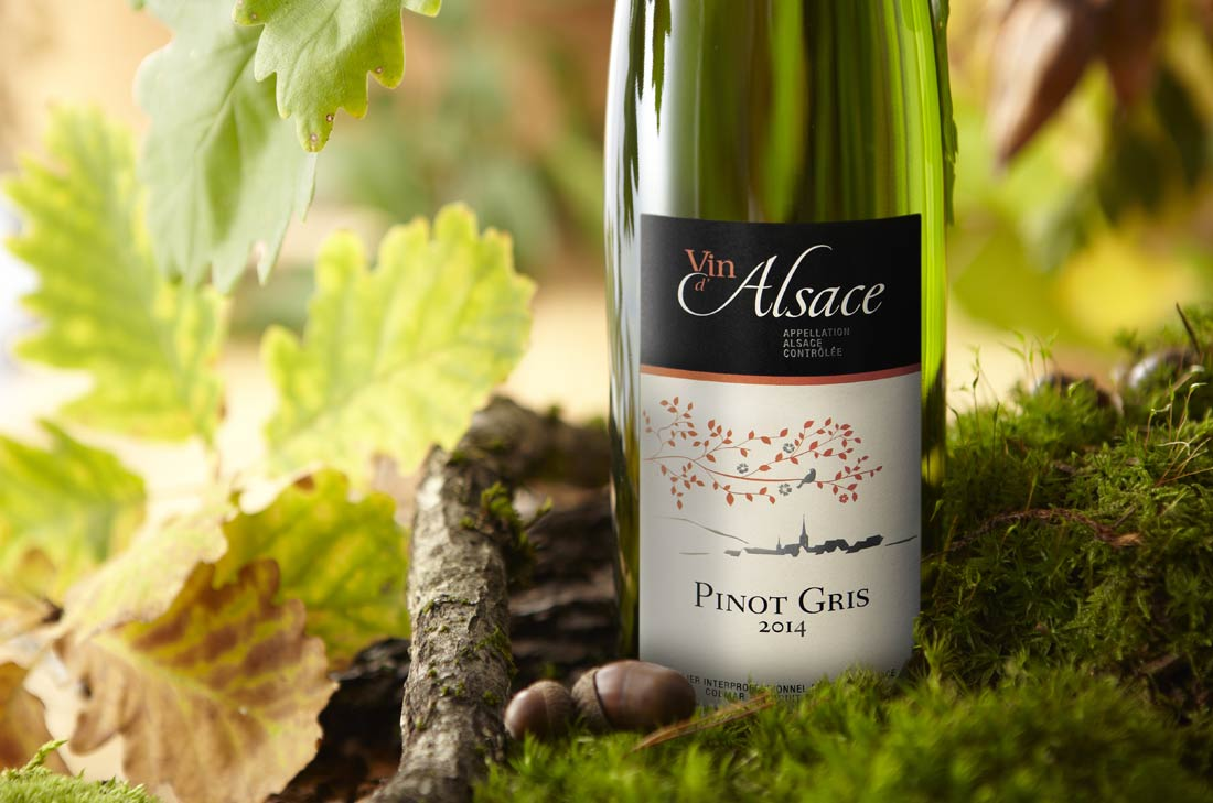 Pinot gris, vin d'Alsace