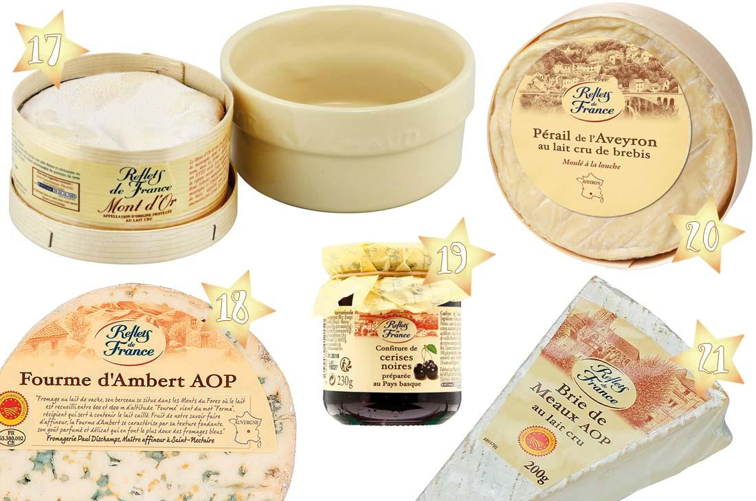 sélection fromages pour Noël 2016 chez Carrefour