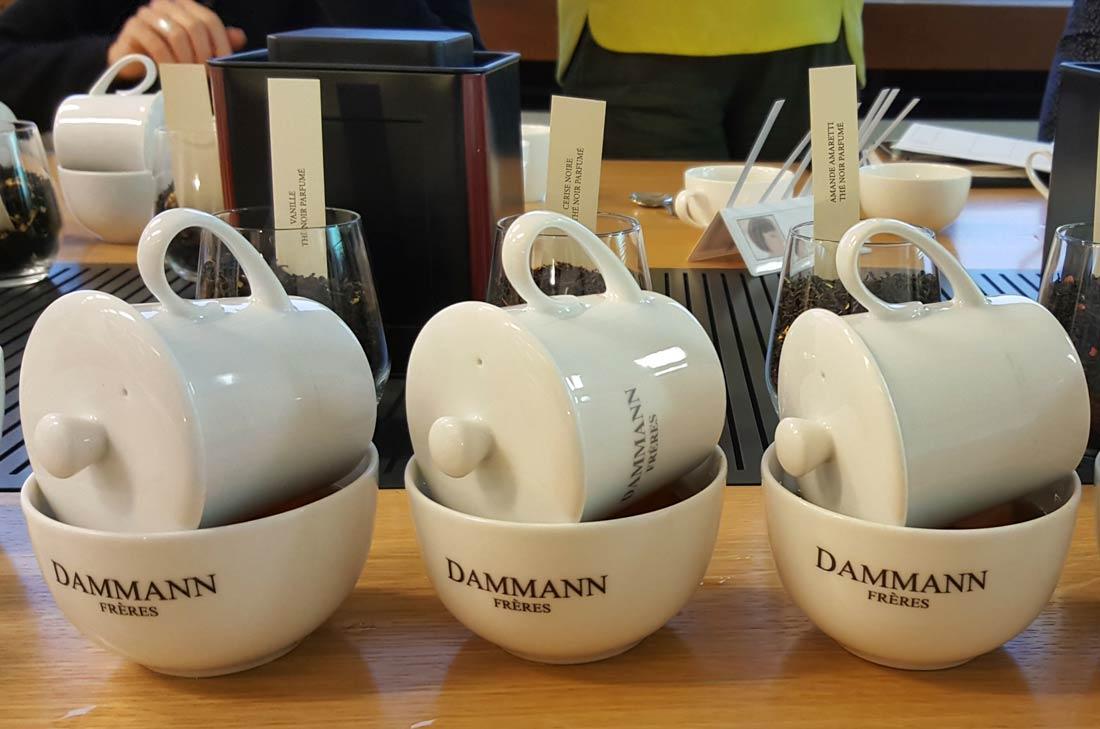 thé Noël en Provence Dammann Frères