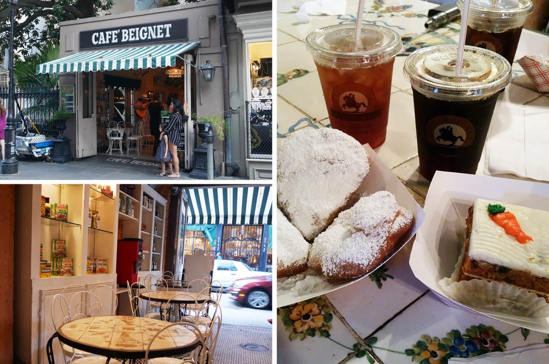 Le Café Beignet à la Nouvelle Orléans