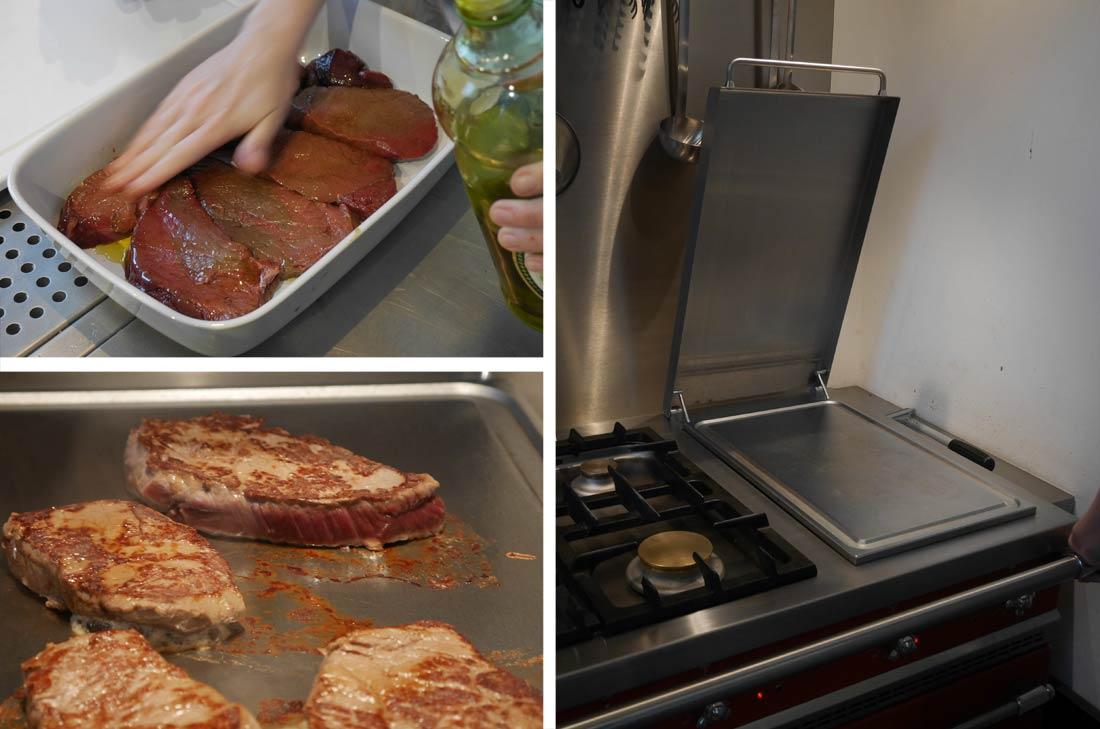 cuisson à la plancha Lacanche