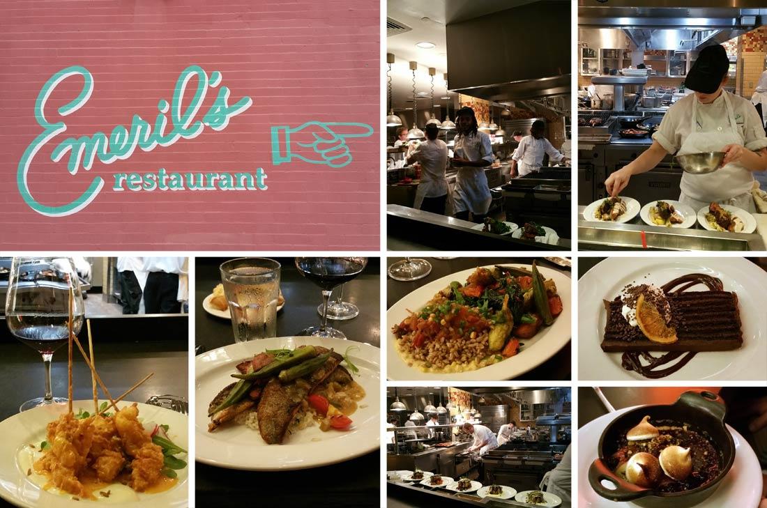 Emeril's restaurant in New Orleans