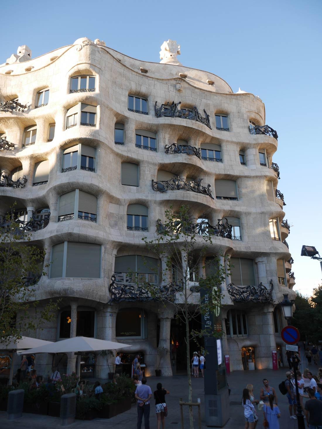 bonnes adresses à Barcelone : La Pedrera