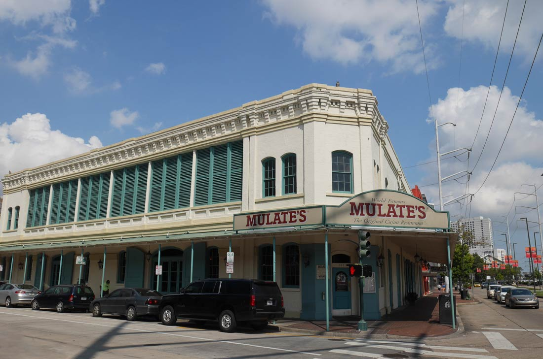 Mulate's in New orleans