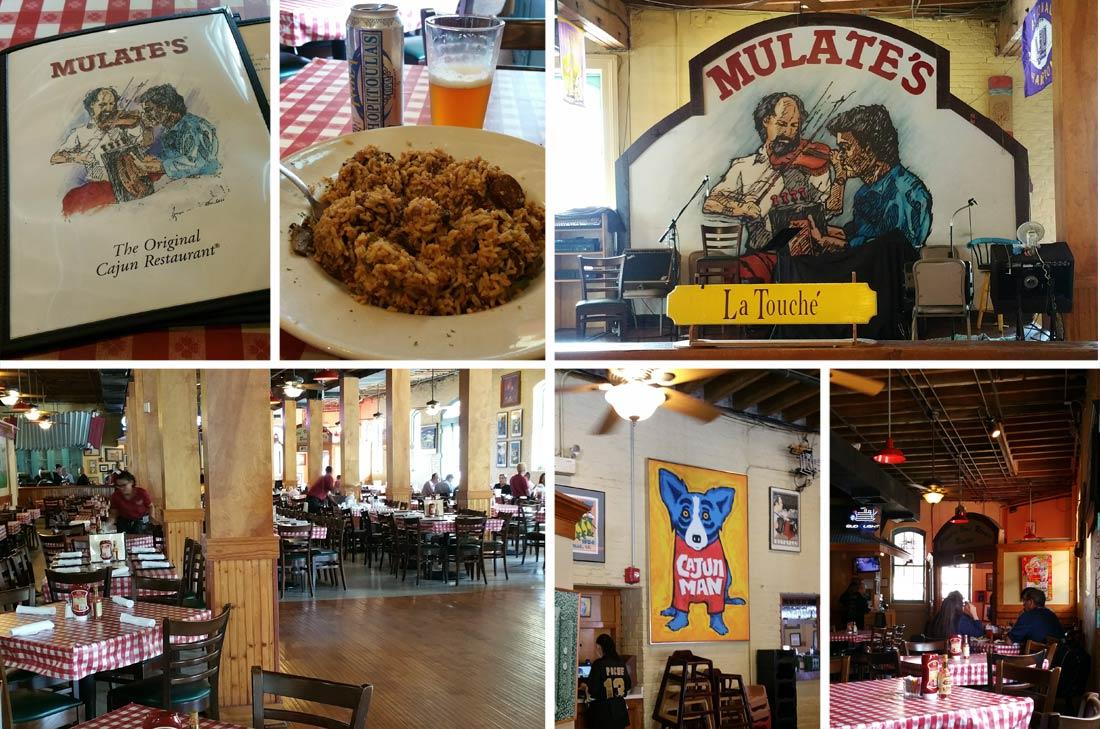Restaurant Mulate's à la Nouvelle Orléans