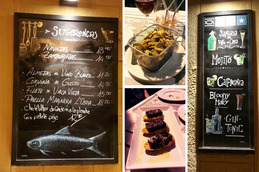 Restaurant Ostia à Barcelone