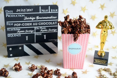 Pop-corn chocolat éclats de noisettes