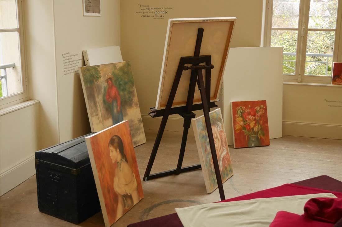 atelier Renoir à Essoyes