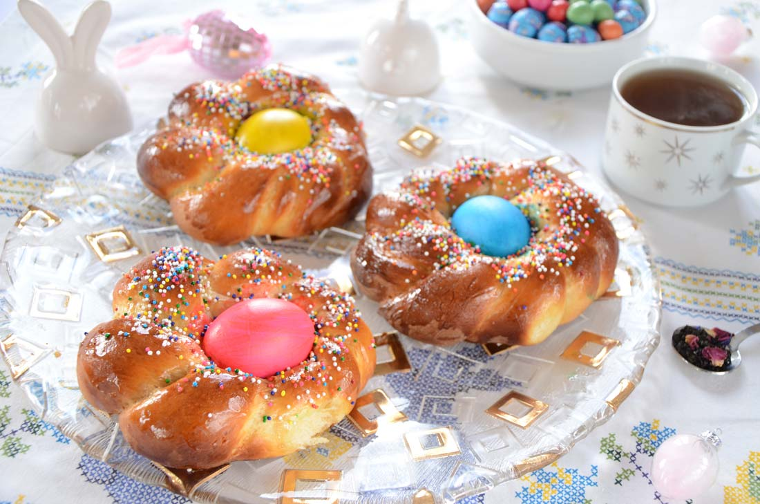 Brioches de Pâques fait maison
