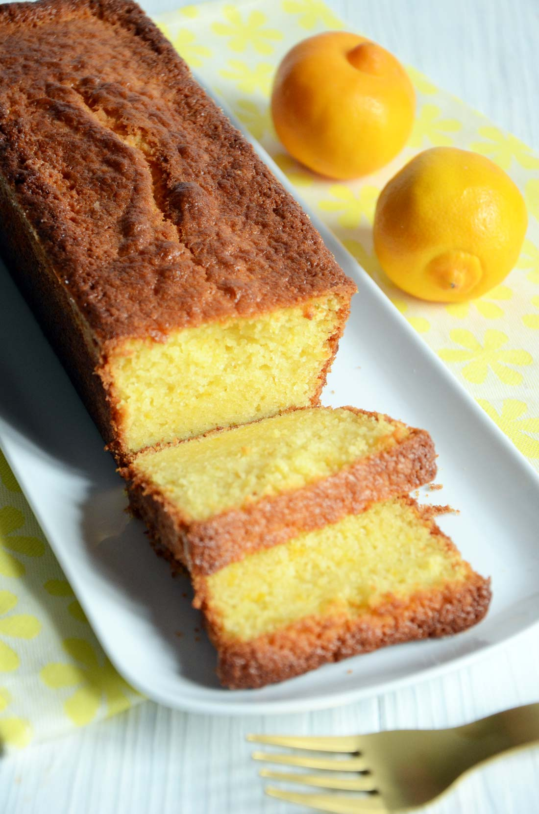 cake à la bergamote maison