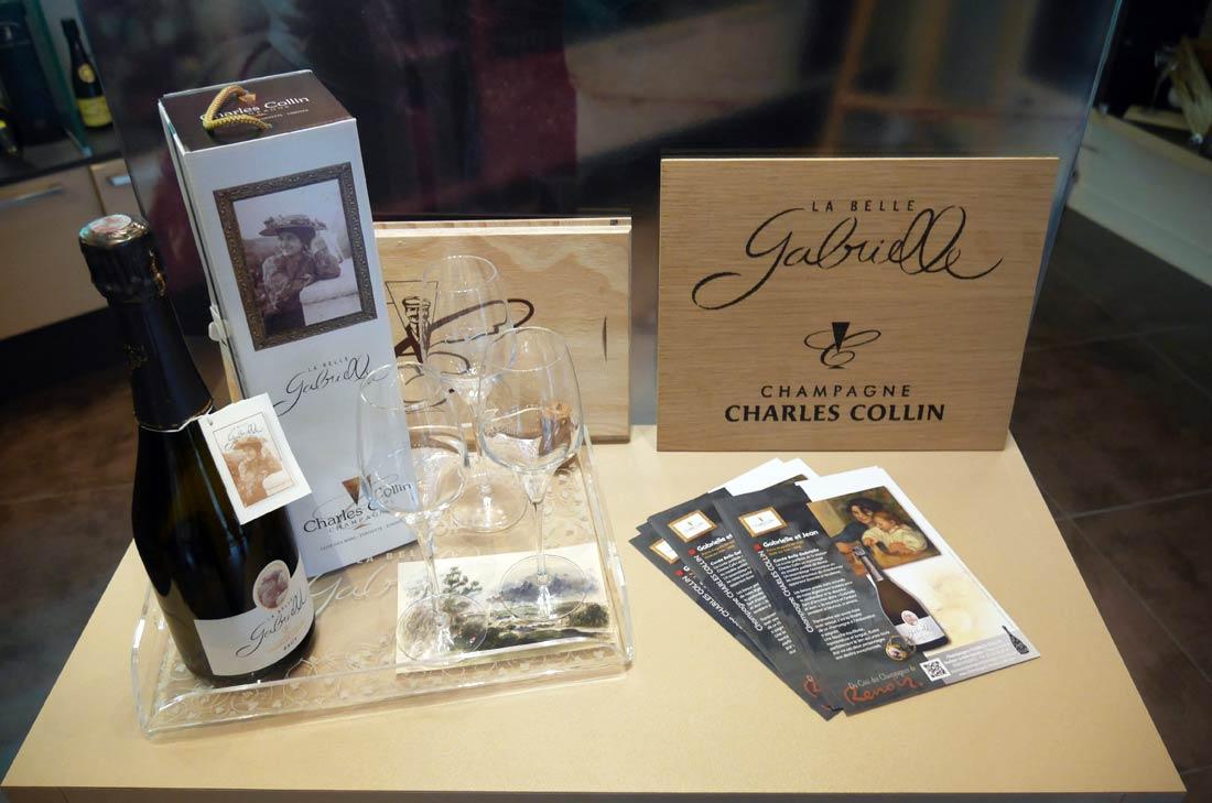 cuvée Gabrielle Maison de champagne Charles Colin