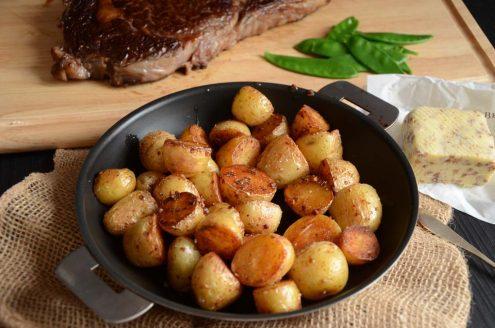Pommes de terre Gwennie au beurre de sarrasin