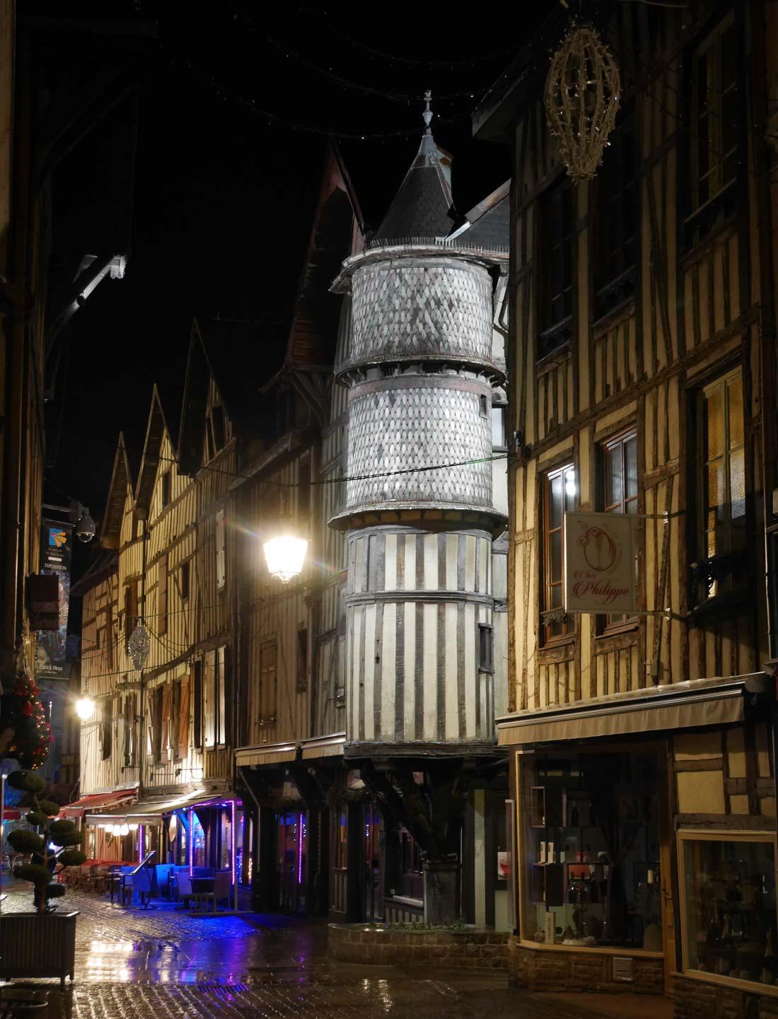 La Tourelle de l'Orfèvre à Troyes