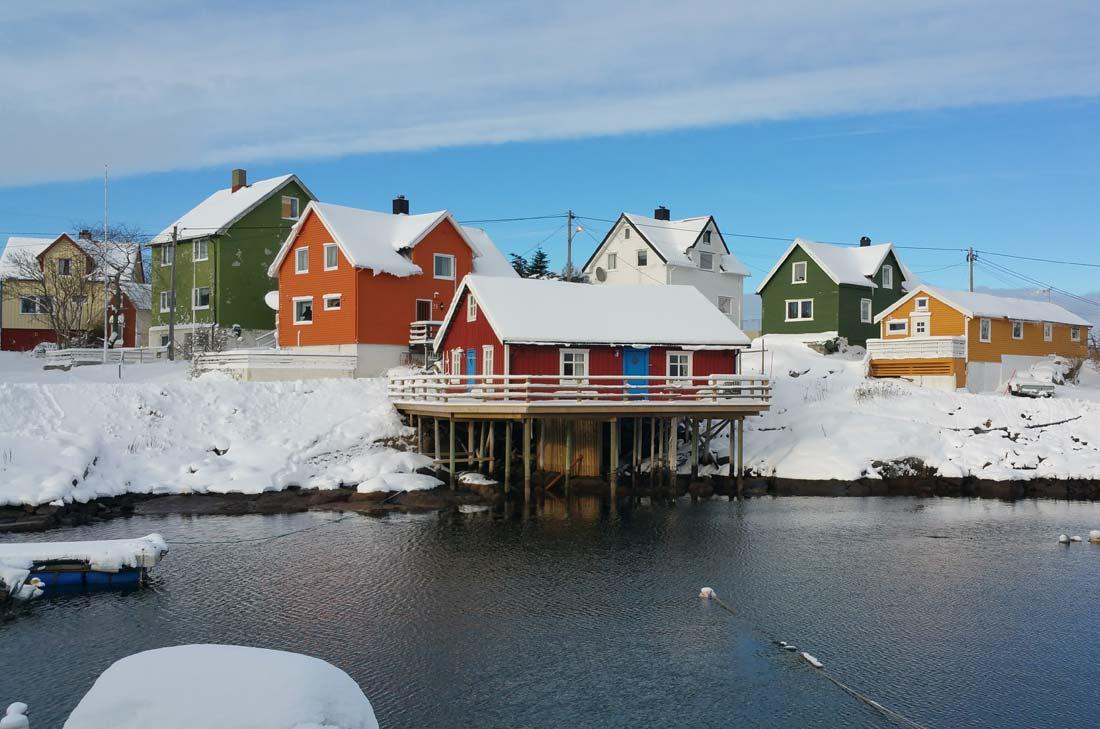 Maisons des Iles Lofoten