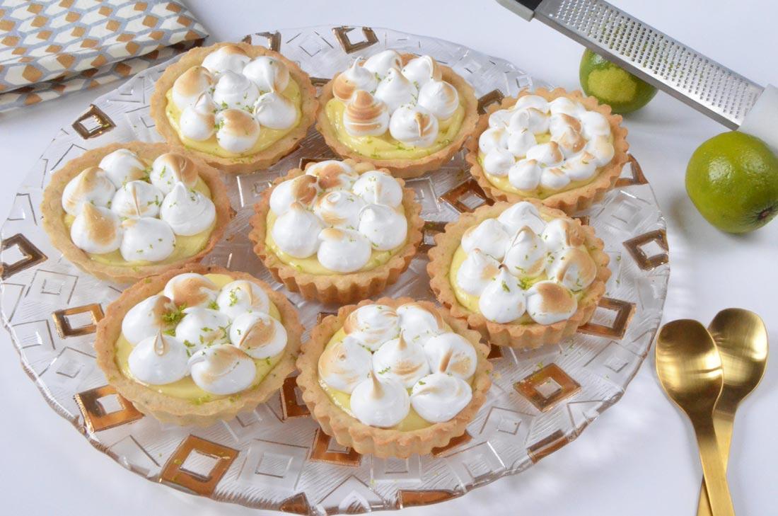 Tartelettes citron citron vert fait maison
