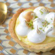Tartelettes citron citron vert
