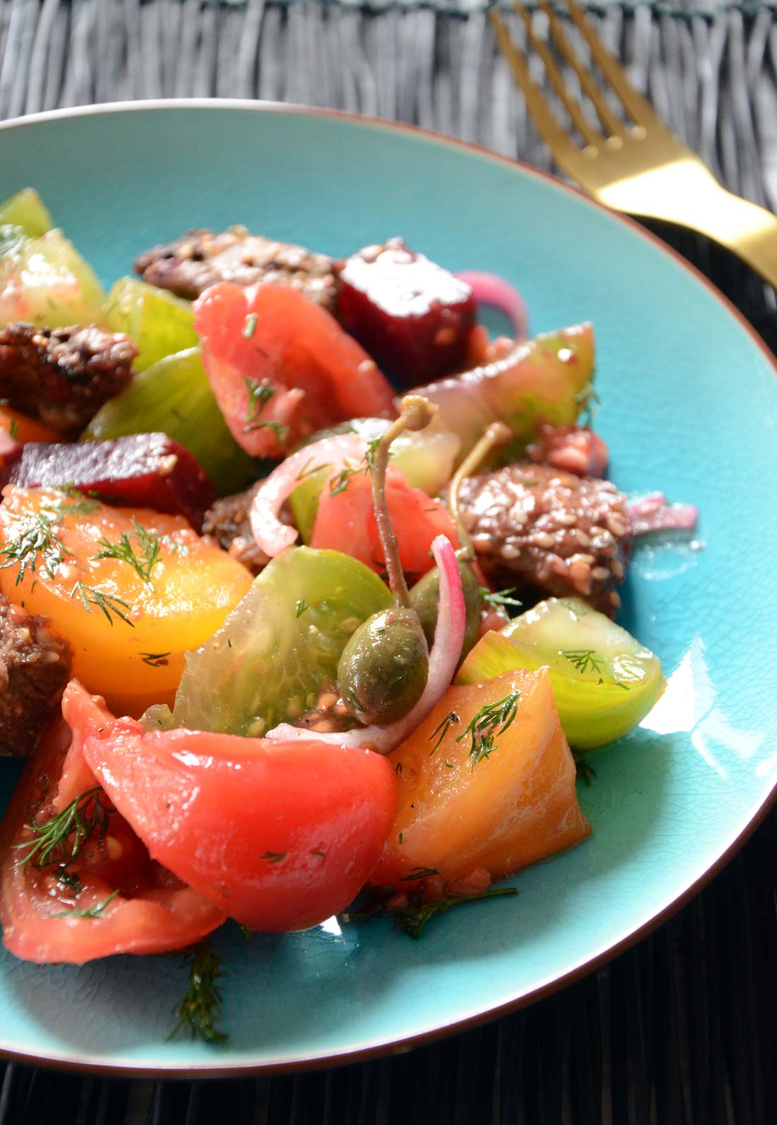panzanella aux tomates fait maison