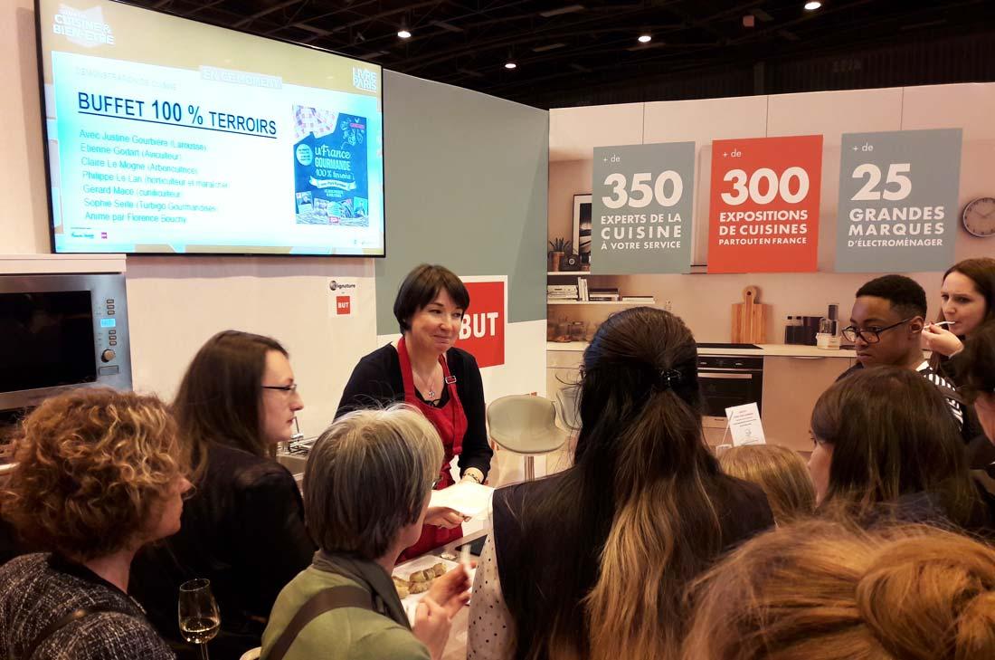 Sophie Turbigo au Salon du Livre pour Pari Fermier