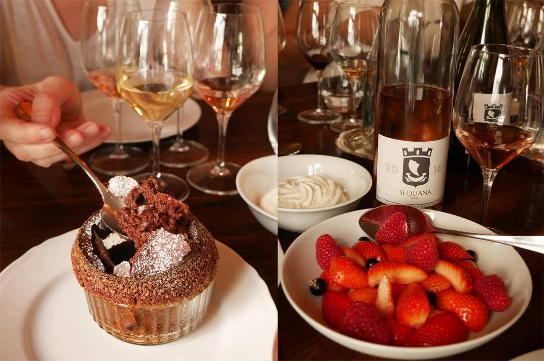 desserts restaurant la causerie