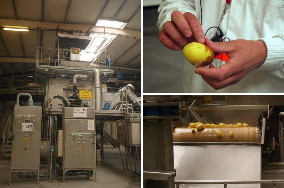 épluchage pommes de terre