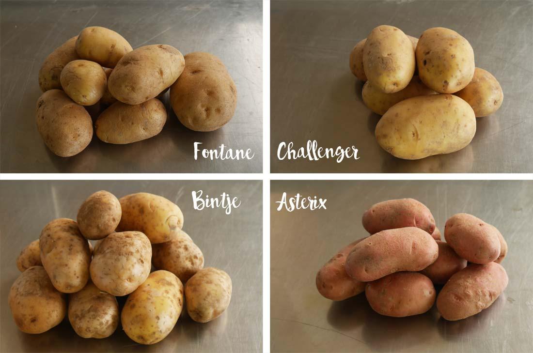 type de pommes de terre purée Mousline